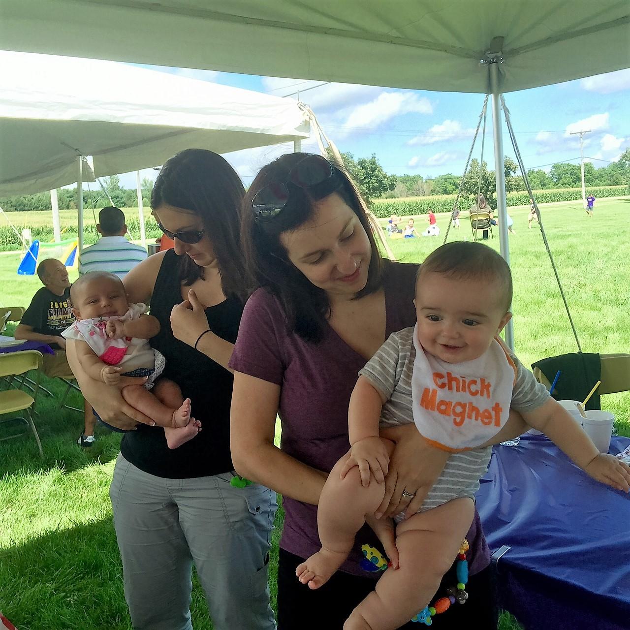 Babies at Picnic